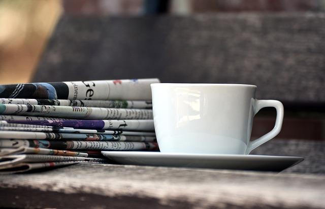 新聞とコーヒー