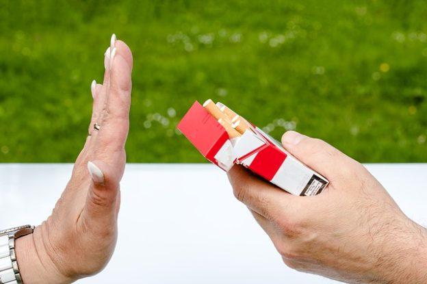 禁煙してます